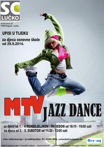 MTV JAZZ DANCE